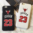 Jordan 23 Chicago Bull Iphone Case Matte Hard Plastic Case Cover Iphone X 8 7 6