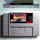 F-Zero F Zero Super Nintendo SNES 16 Bit NTSC ARPG Game Cartridge US Version