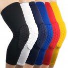 Circulating Breathable Lycra Fabric Basketball Knee Pads Brace Leg Sleeve Calf