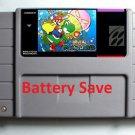 Brutal Marioed SNES Super Nintendo 16 Bit NTSC Video Game Cartridge USA Version