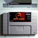 Mortal Kombat 1 SNES 1992 Super Nintendo 16 Bit NTSC Cartridge Card US Version
