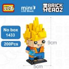 LOZ Block The Legend Of Zelda Brick Head Mini Building Block Action Figure DIY
