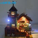 Led Light Set ONLY Compatible With Old Fishing Store Building Block LEGO 21310