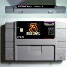 Mortal Kombat 3 SNES 1995 Super Nintendo 16 Bit NTSC Cartridge Card US Version