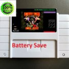 Donkey Kong Boss Blitz Super Nintendo SNES NTSC 16 Bit US Version Battery Save