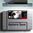 Final Fantasy VI 6 Super Nintendo SNES 16bit NTSC RPG Game Battery Save English