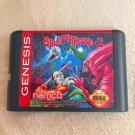 SplatterHouse Part 2 16 bit MD Game Cartridge Card Sega Mega Drive Genesis New