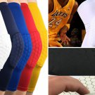 Basketball Compression Leg Knee Pad Honeycomb Sleeves Extended Protective Brace