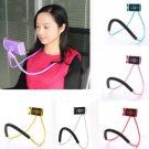 Universal 360 Rotation Flexible Mobile Phone Tablet Selfie Neck Holder Stand