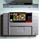 Record Of Lodoss War Super Nintendo RPG Game Cartridge Battery Save US Version