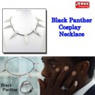 2018 NEW Avengers Black Panther Necklace Wakanda King T'Challa Cosplay Necklace