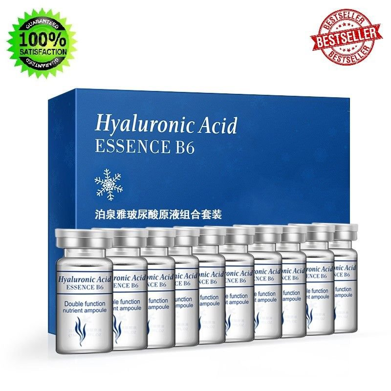 BIOAQUA 10 Pcs Facial Moisturizing Serum Anti Wrinkle Anti Aging Vitamin Essence
