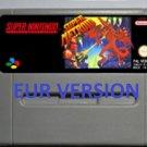 Super Metroid Super Nintendo SNES RPG Game Cartridge Battery Save EUR Version