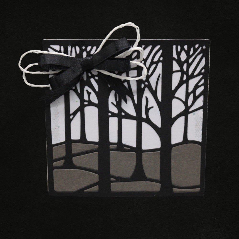 Merry Christmas Tree Set Metal Cutting Dies Stencil Embossed Scrapbooking Cards