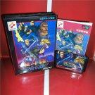 Contra Hard Corps MD Cartridge Card Sega Mega Genesis Game Console Boxed Version