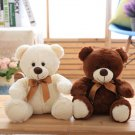 25cm Cute Teddy Bear Stuffed Plush Toy Bear Doll Christmas Present Gift Cartoon