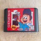Fix It Felix Jr 16 bit MD Game Cartridge Card Sega Mega Drive Genesis New No Box