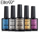 New ELITE99 15ml Matt Base Top Coat Cleaning & No Clean Gel Nail Polish UV LED