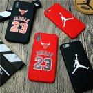 New Michael Legend 23 Air Jordan Soft Cover Case For iphone X XS XS Max 8 7 Plus