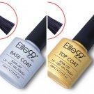 Base Coat And Top Coat UV Soak Off Gel Long Lasting Polish Nail Gel 10ML