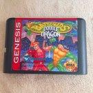 Battletoads vs Double Dragon 16 bit Game Cartridge Card Sega Mega Drive Genesis