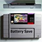 Adventures of Hooray High School Super Nintendo SNES 16bit Card US Version Save