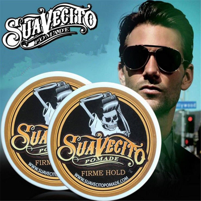 SUAVECITO Hair Pomade Firm Hold Style Hair Pomade Superhold Restoring Hair Wax