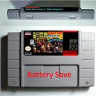 DONKEY KONG COUNTRY 1 2 3 SNES Super Nintendo ARPG Game Battery Save US Version
