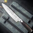 """8"""" Professional Japanese Stainless Steel Chef Knife Meat Santoku Kitchen Knife"""