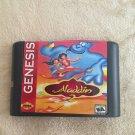 Aladdin 2 16 bit MD Game Cartridge Card Sega Mega Drive Genesis US Version New