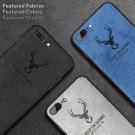 Luxury Christmas Deer Cloth Phone Case Soft Silicone Cover For Iphone X XR XS 8