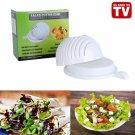 Quick Chop Salad Bowl -Easy Speed Salad Maker - Quick Chop Salad Bowl