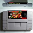 Donkey Country Kong 1 2 3 Save Version With Battery US Version FREE SHIPPING NEW