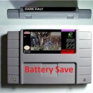 Dark Half Super Nintendo SNES 16bit NTSC Cartridge Card USA Version Battery Save