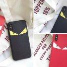 Luxury Fendi Monster Eyes Case Smartphone Cover Phone iPhone X 8 7 Plus 6s Plus