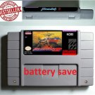 Brandish 2 Super Nintendo SNES NTSC Game Cartridge Card US Version Battery Save