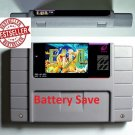 E.V.O EVO Search For Eden Super Nintendo SNES 1993 Game Battery Save US Version