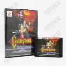 Castlevania The New Generation Boxed Version MD Game Sega Mega Drive Genesis New