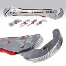 Adjustable Magic Multi-function Pipe Wrench Spanner‎ Tool 9-45mm Quick Snap Grip