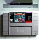 Dragon Quest III 3-Super Nintendo SNES NTSC Cartridge US Version Battery Save
