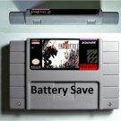 Final Fantasy VI 6 Super Nintendo SNES 16bit NTSC RPG Battery Save Us Version