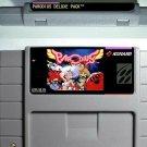 Parodius Deluxe Super Nintendo SNES Action Game Cartridge 16 Bit USA Version