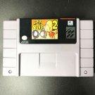 Super Bonk 2 Super Nintendo SNES 16bit NTSC Cartridge Game Card US Version New