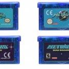Metroid Fusion /Zero Mission Gameboy Advance (GBA) Cartridge Card EUR/US Version