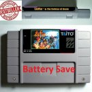 Lufia Fortress of Doom Super Nintendo SNES Cartridge RPG 16bit Battery Save