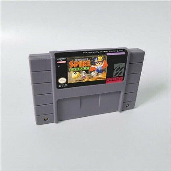 The Twisted Tales of Spike McFang Super Nintendo 16bit SNES NTSC Cartridge Card