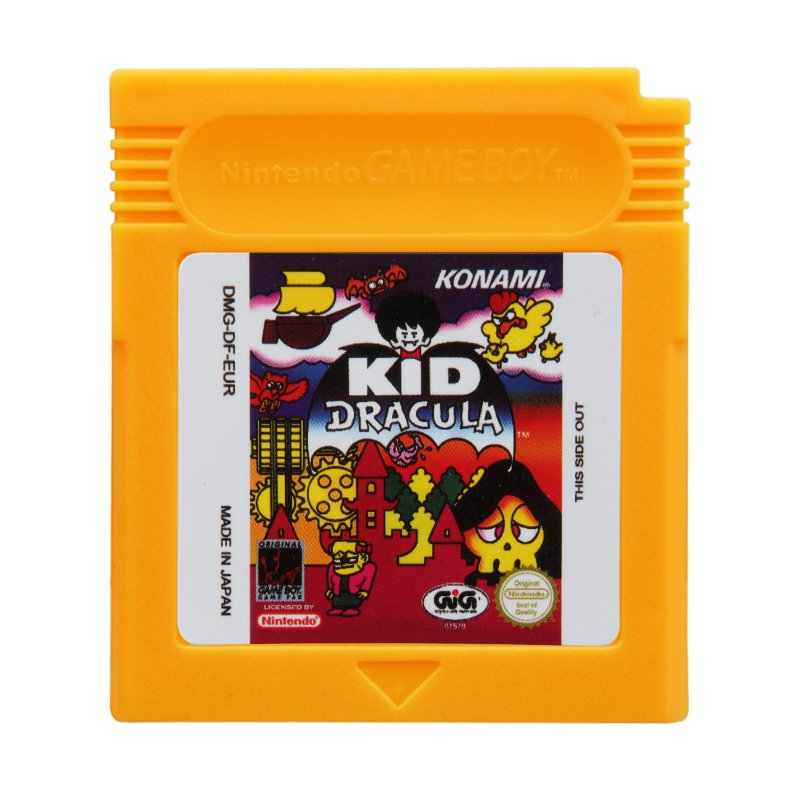 Kid Dracula Gameboy Advance GBA Cartridge Card US Version