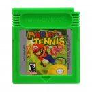 Mario Tennis Gameboy Advance GBA Cartridge Card US Version
