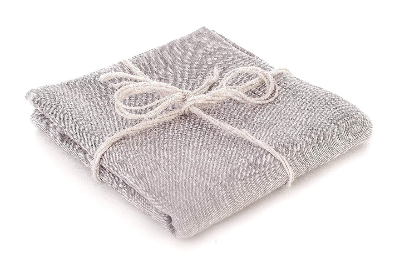 100% Pure Flax Linen Bath Sheet, 43x59 inches