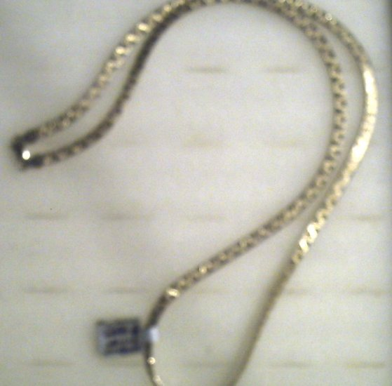"""24"""" Sterling Gold over silver Necklass 40.00"""